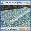 Verzinkte gezackten Stahlvergitterung für Plattform-Panels