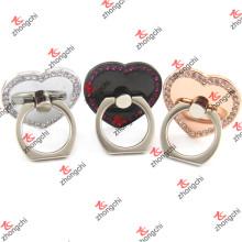 Сердце любви многоразового Sticky Finger кольцо держатель Оптовая (SPH186)