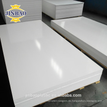 Jinbao 4x6ft 0,5 dichte pvc blatt dicke 2mm schaum pvc blatt