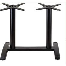 Meubles vintage table de tabouret de bar en fonte noire pieds utilisés base en métal et pieds de table en fonte à vendre