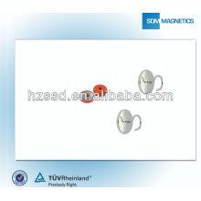 Стандартный магнит с резиновым покрытием