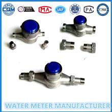 Ss 304 Edelstahl Wasserdurchflussmesser in Größe 15-40mm