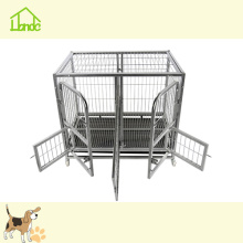Heavy Duty Dog Cage con ruedas