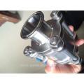 Válvula de bola 3 piezas cf8m 1000wog