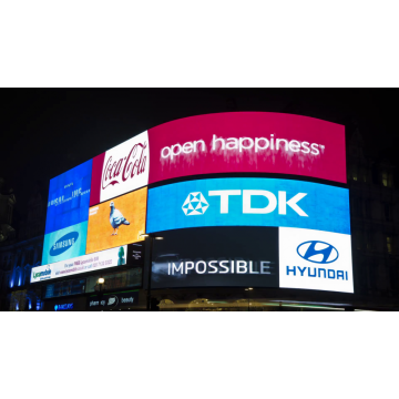 IP65 Brede kijkhoek Outdoor Billboard LED Display