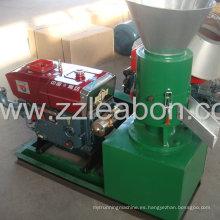 Estructura compacta Diesel Wood Pellet Mill