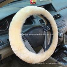 Couverture de volant de la laine 2016 / voiture automatique décore