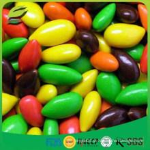 Sementes de girassol revestidas de chocolate