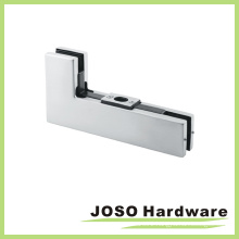 Sidelite or Glass Hardware Corner Overpanel Mounted Keeper for PT204