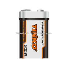 6f22 super heavy duty battery size 9v