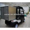 Samll cargo 2 seats electric golf cart fabricado pela Excar