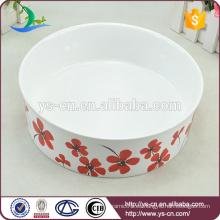 Tazón de alimentación para mascotas de cerámica