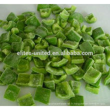 Détail du poivre vert IQF
