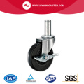 Griffring Light Duty Black Rubber Caster