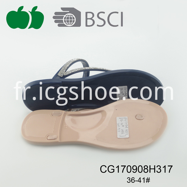 pvc cheap slipper