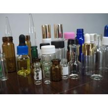 Série de capuchon en plastique pour fermeture de bouteille de verre