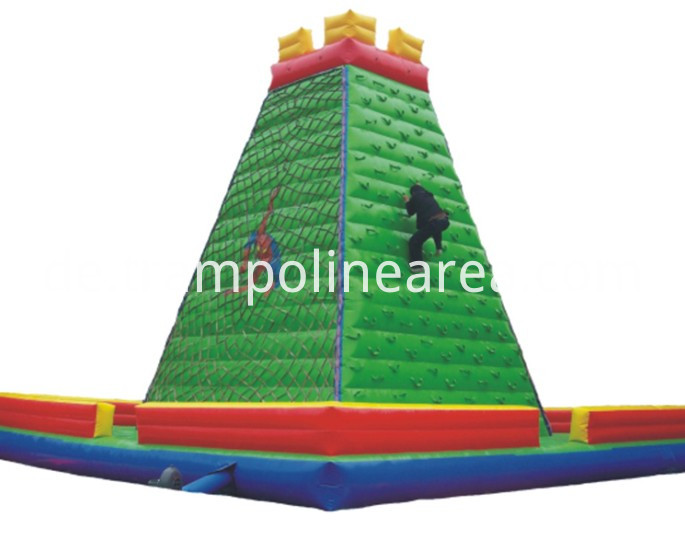 inflatable bounce slide