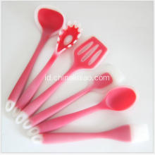 Kabel Nylon Colorful Dibungkus dengan Silicone Baking Cooking Pastry Set