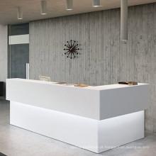 Recepção em Pedra de Acrílico Recepção em hotéis