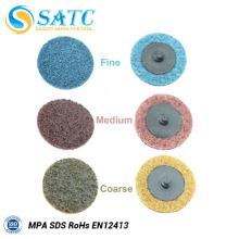 Disco de lixamento de disco de lixamento rápido abrasivo não tecido 50 PACK