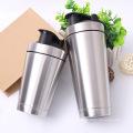 Stainless Steel Shaker Bottle Metal Insulated Shaker Bottle for Fitness