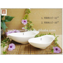 porcelain boat plate with handle tableware dinner plate serving trays