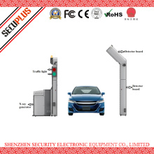 Open proof X ray truck inspection system container scanner for highway, checkpoint