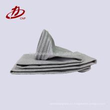 Bolsa de filtro de fibra de vidrio utilizada industrial de cemento
