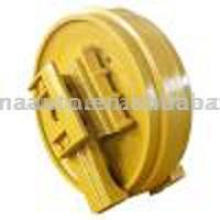 Excavator undercarriage parts idler roller/guide wheels pulley