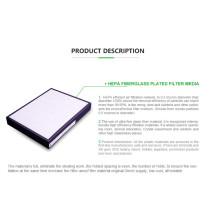 MERV 8 Plissee-Luftfilterpapier