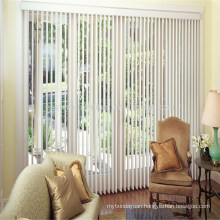 2018 Hot Selling Fashion Fabric vertical Panel Track Blinds