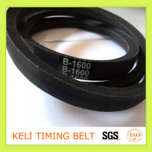 Wrapped V Belt Without Teeth Rubber Black