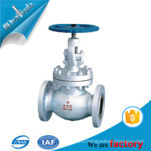 Globe Valve, Material A105, Class 600, Connection Flange