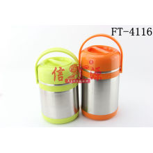 Stainless Steel Colorful Heat Retaining Pot (FT-4116)