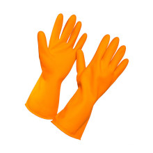 Household Natural Rubber Latex Glove for Kitchen Cleaning Dishwashing