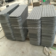 Forma de Fisheye / Metal perfurado antiderrapante / folha de metal perfurada