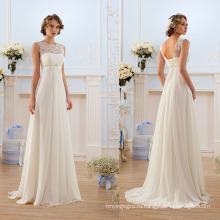 Французское Кружево Шифон Богемный Свадебное Платье