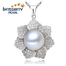 Freshwater Pearl Pendant Design AAA 9-10mm Pearl Pendant