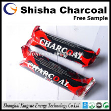 Diameter 33mm natural wood hookah charcoal for shisha