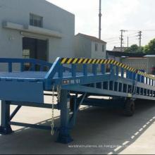 Rampa de venta directa de fábrica para descargar contenedores Rampa de venta directa de fábrica para descargar contenedores