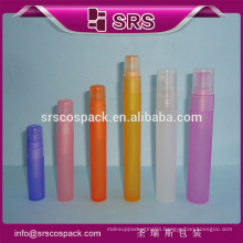 Plastic Cosmetic Mist Spray 5ml 8ml 10ml 12ml 16ml 20ml 30ml Bottle And Atomizing Spray Containers For Perfume