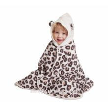 cartoon hooded kids towels for girl