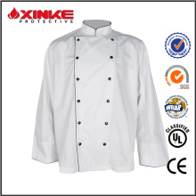chaqueta de chef de cocina de venta caliente