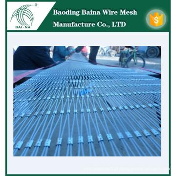 Rede de malha de arame de aço inoxidável durável feita na China