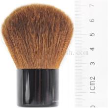 Private Label cabra Cabelos e Metal Handle Kabuki Makeup Brush