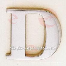 Lettre D pour accessoires de décoration de mode sac (N33-1003A)