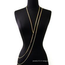 2015 nouvelles chaînes de bijoux de corps de design chaînes de corps à l'infini