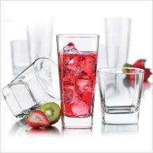Fábrica de alta calidad directa Cuarto de Whisky vidrio resistente al calor Copa de vidrio transparente