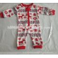 2017 hot sell printed family homewear kids christmas pajamas wholesale