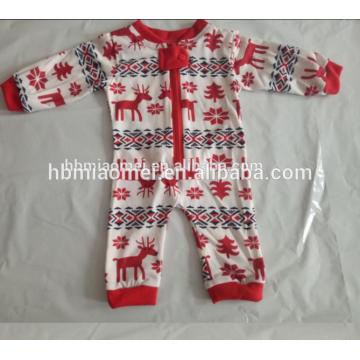 2017 heißer verkauf gedruckt familie homewear kinder weihnachten pyjamas großhandel